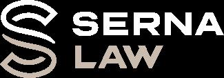 serna law logo stacked
